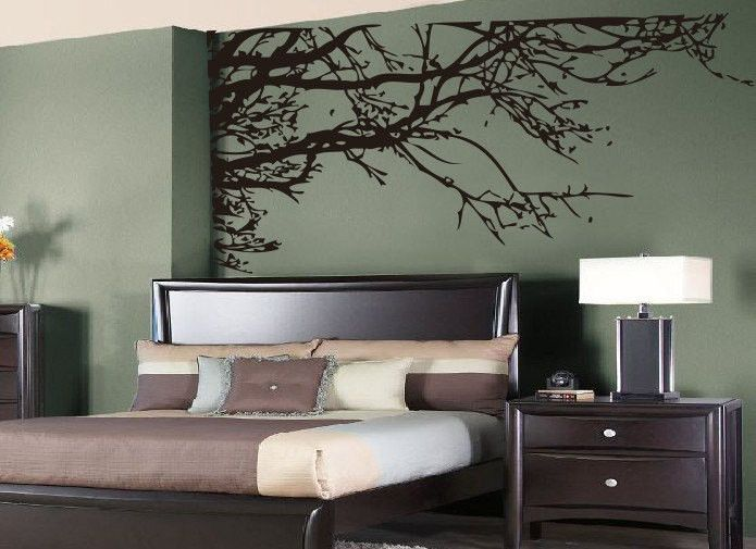 Large tree branches Wall Vinyl-TLiving room Wall decor ...
