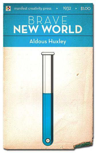 Brave New World - Aldous Huxley Cover Art