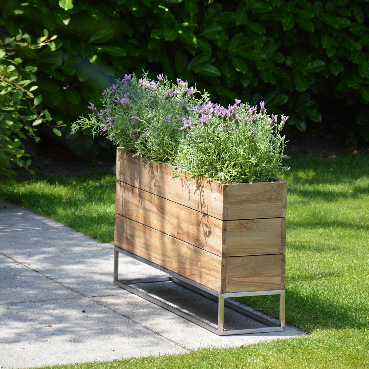 Blumenkubel Minigarden Von Jan Kurtz Connox Pflanzen Pflanzkubel Moderne Gartenentwurfe