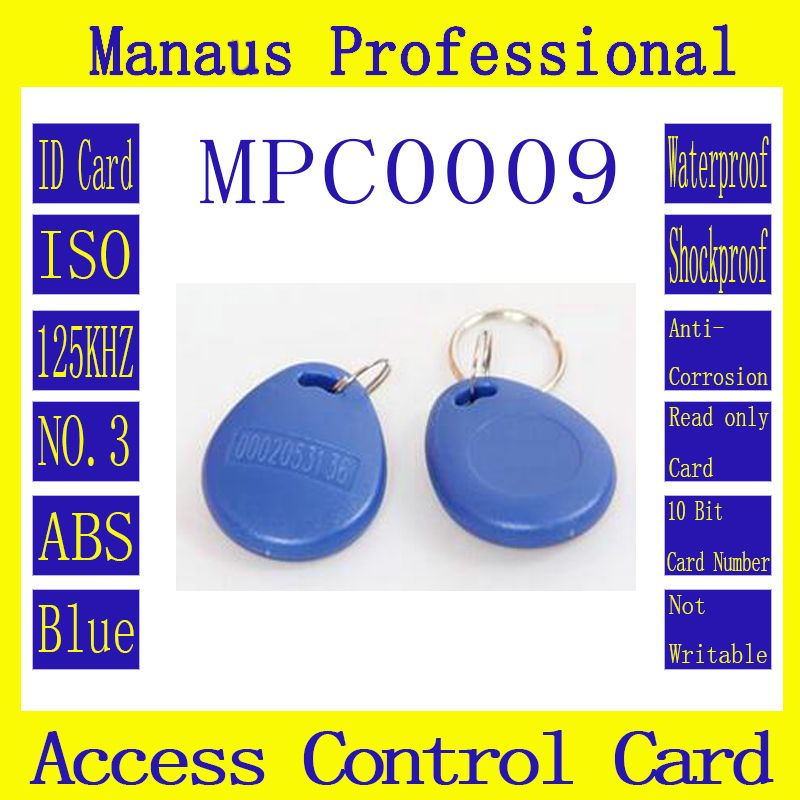 30pcs Waterproof Id Keyfobs Rfid Tag 125khz Proximity Token Key Ring Card Access Control Attendance Card No 3 And Rfid Rfid Tag