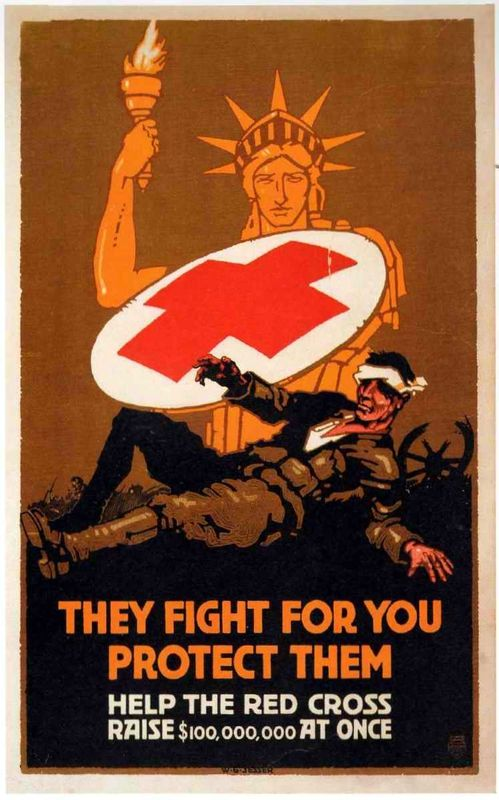USA, WWI: Red Cross