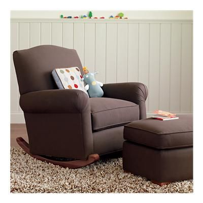 Baby Room. Comfy Chair That Rocks