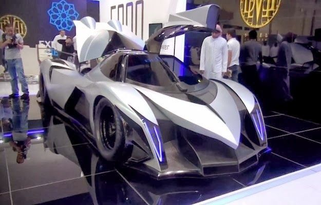 Devel Sixteen A Supercar With Horsepower Celebrities Car - Cool cars 5000