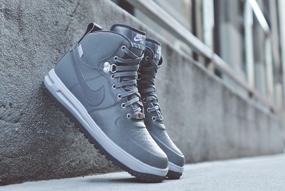 huge discount fcb86 5ca69 Nike Lunar Force 1 Sneakerboot Cool Grey