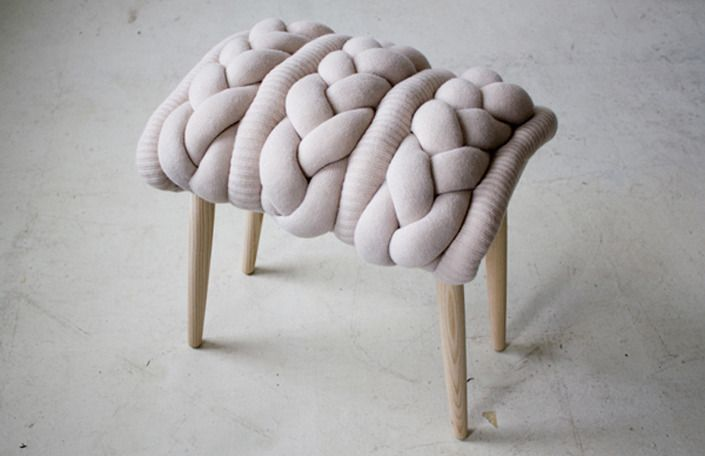 Claire-Anne O'Brien: Knit Stools