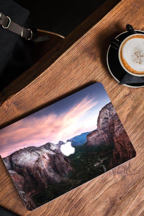 Macbook Skin Zion National Park MacBook Decal Laptop Decal