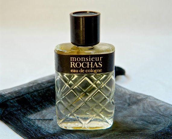 vintage monsieur rochas cologne eau de toilette for men. Black Bedroom Furniture Sets. Home Design Ideas