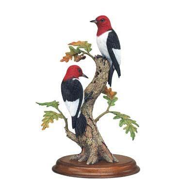 Fall Drummers Bird Figurine By Bob Guge Passaros Decoracao