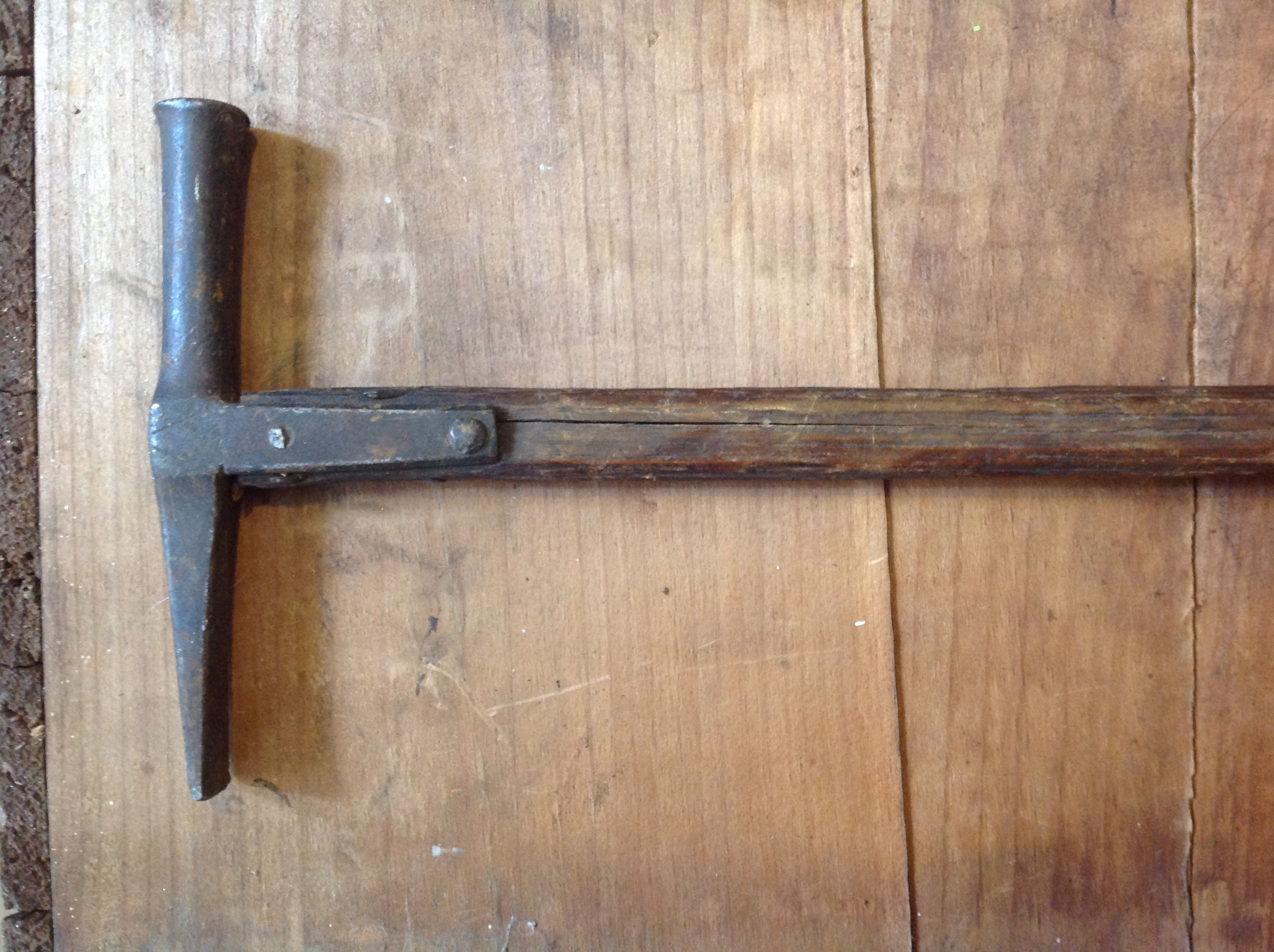 Antiques 1840\'s English saddle makers Strap style hammer. Great ...