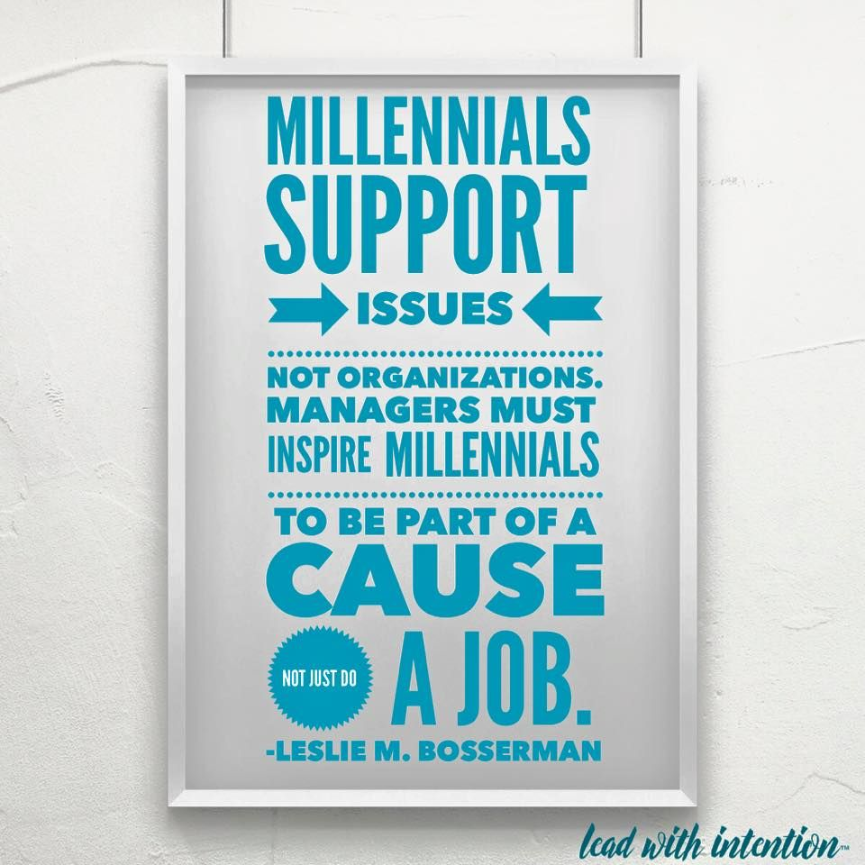I Partner With Driven Millennials Who Want To Make A Difference