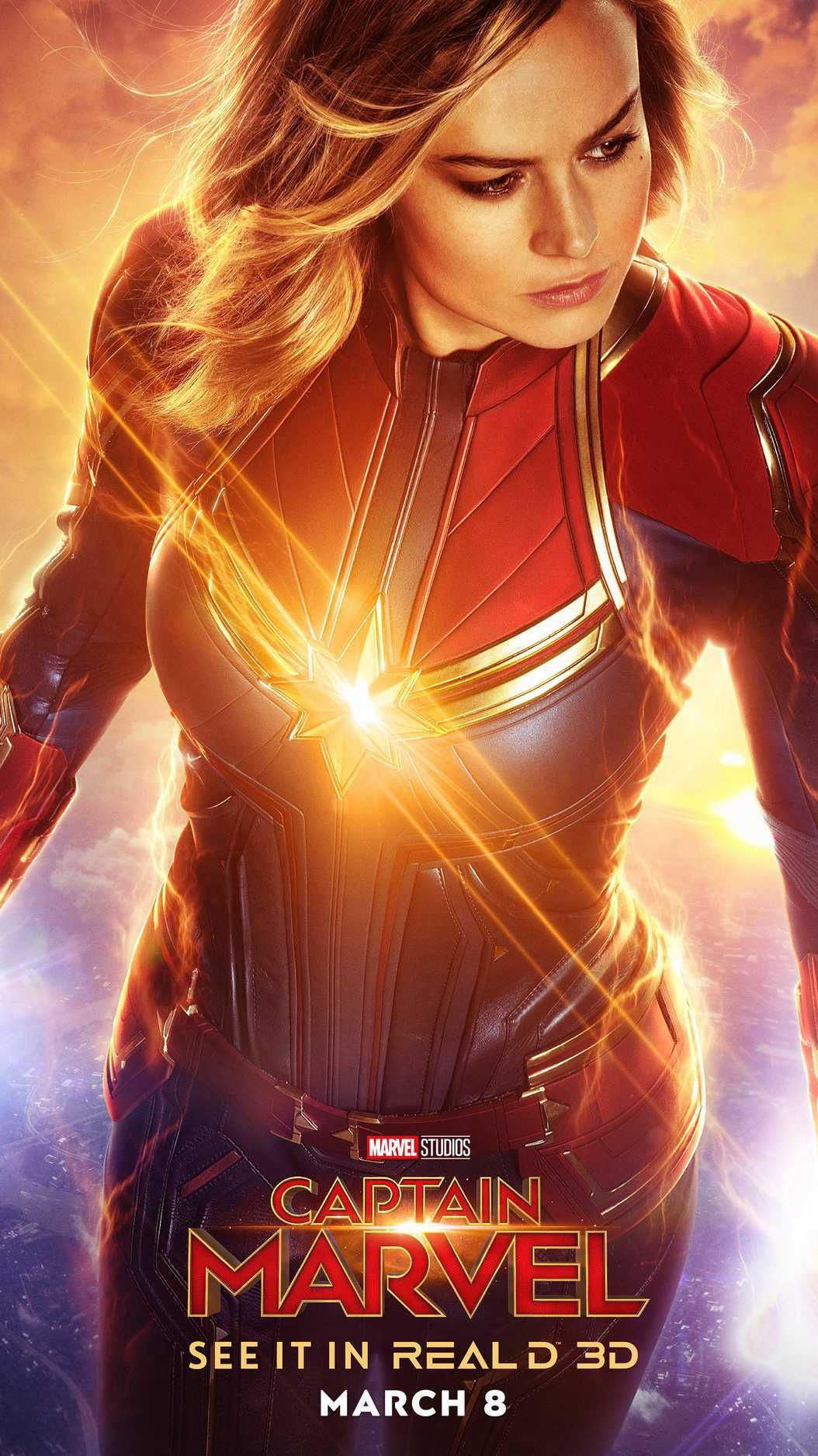 Captain Marvel Hd Poster Iphone Wallpaper In 2020 Captain Marvel Marvel Marvel Phone Wallpaper