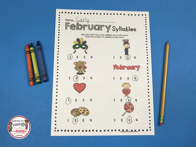 February Math Amp Ela Pack