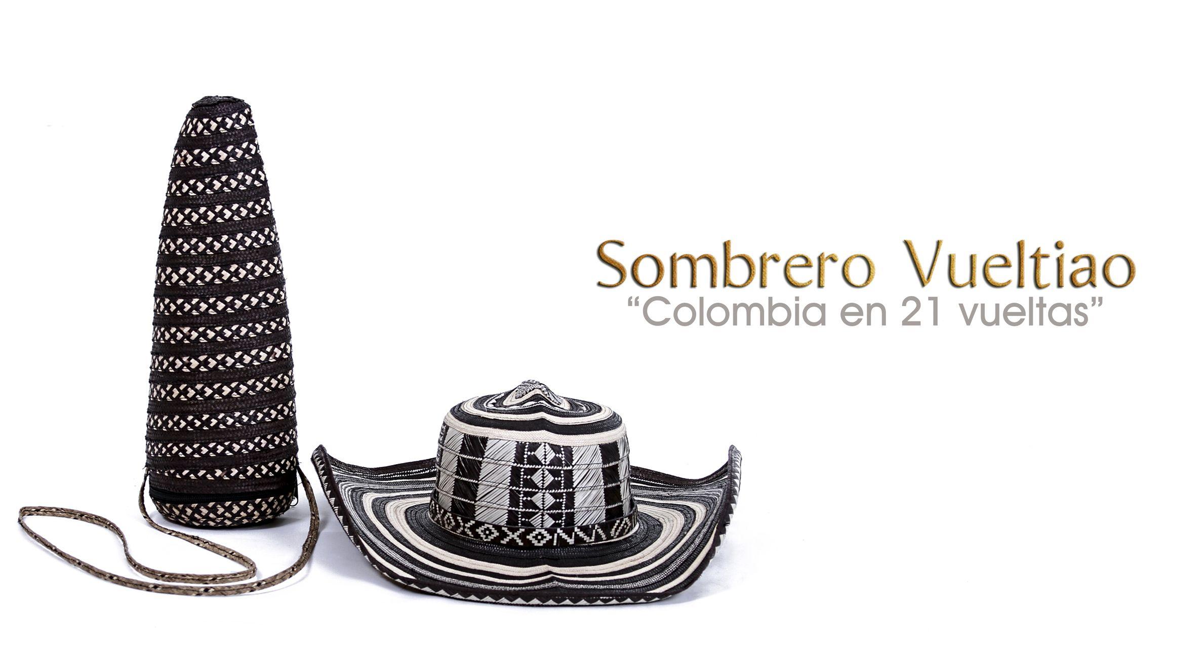 Sombrero Vueltiao, símbolo nacional colombiano. 15 Vuetas: US$ 49,50