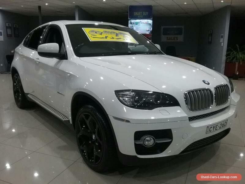 2011 bmw x6 e71 my11 xdrive 40d white automatic 8sp a. Black Bedroom Furniture Sets. Home Design Ideas