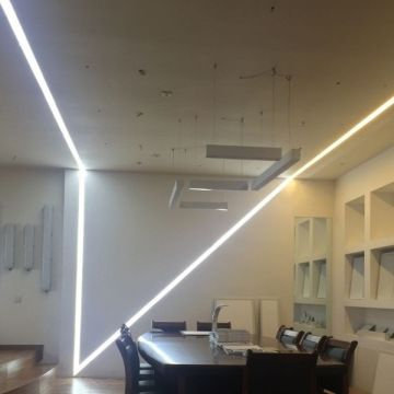 New Model Ceiling Led Recessed Linear Lighting Fixture Aluminum