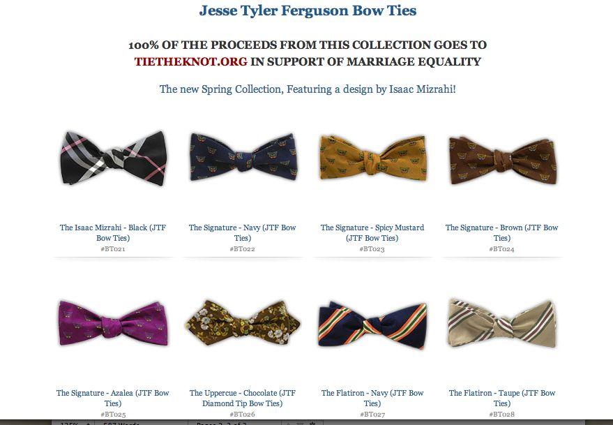 very slimline bow ties - Google Search
