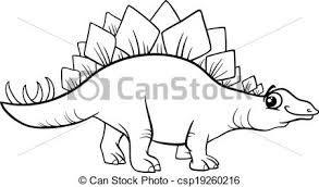 Resultado de imagem para cartoon dinosaur stegosaurus