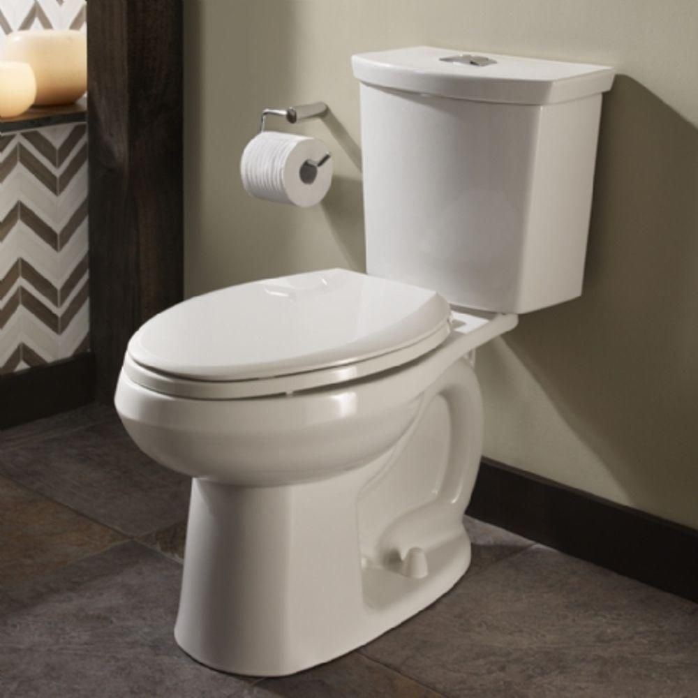 American Standard Cadet 3 Tall Height 2 Piece 1 0 1 6 Gpf Dual Flush Elongated Toilet With Slow Close Seat In White 3380 216st 020 Toilet Dual Flush Toilet American Standard