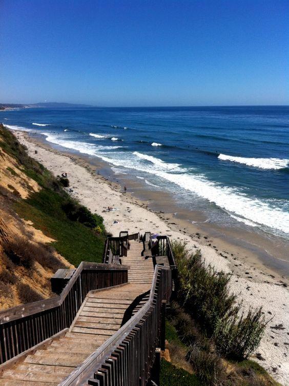 Located on the San Diego Coast, San Elijo State Beach ...
