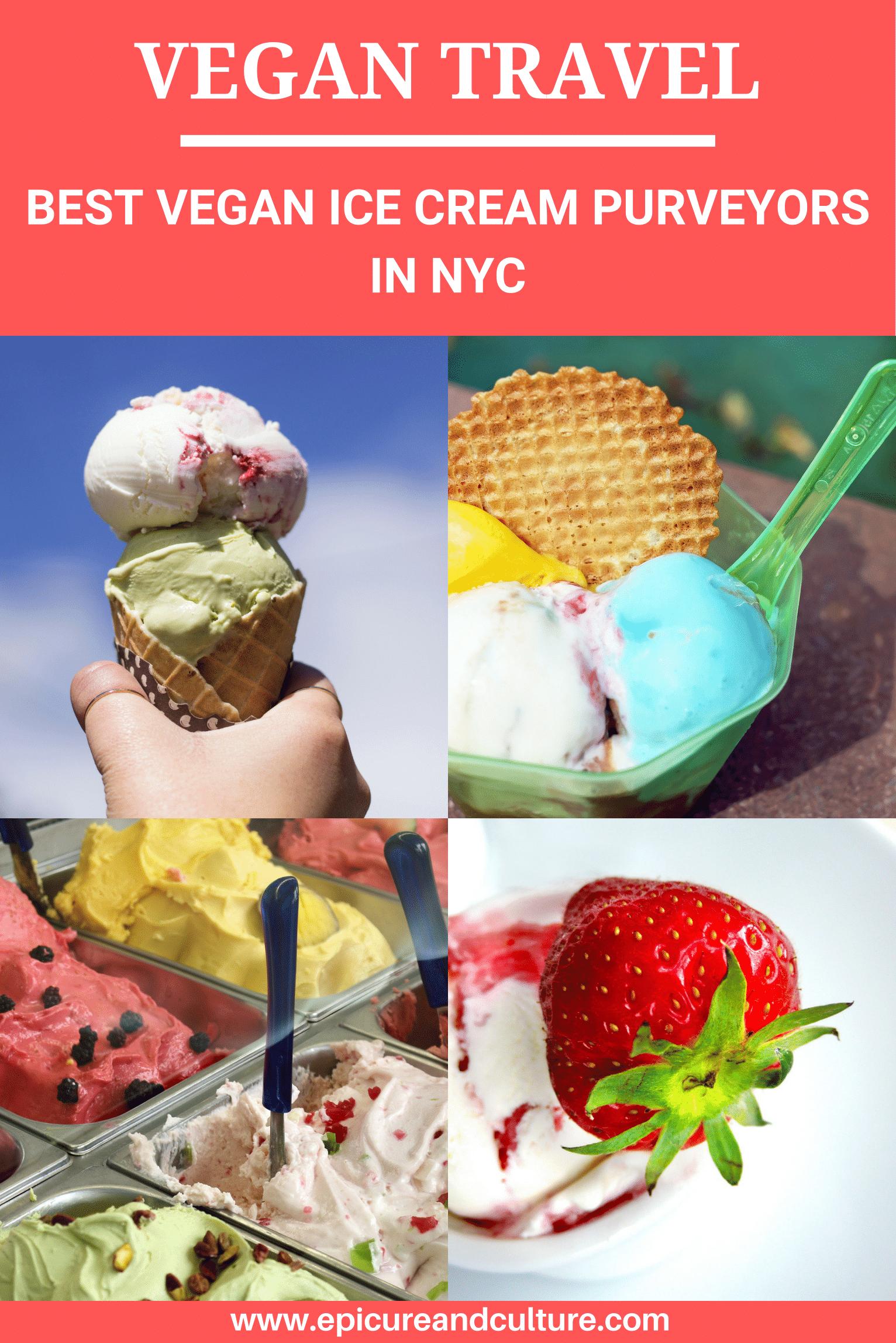 Epicure S Guide To Nyc S Vegan Ice Cream Purveyors Best Vegan Ice Cream Vegan Ice Cream Vegan Ice Cream Nyc