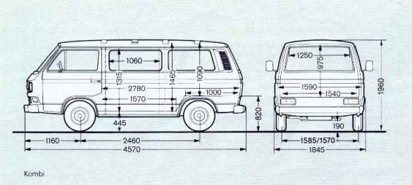 T3 Interior Dimensions Google Search Transporter T3 Groupe