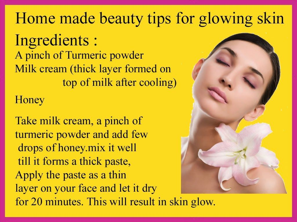 Home Made Beauty Tips for Glowing Skin. Skin Fairness Beauty Tips