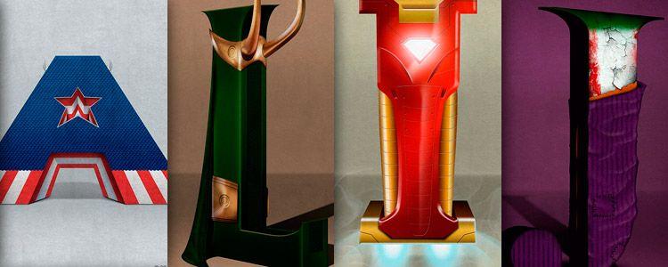 Superbet, el alfabeto inspirado en Super Heroes