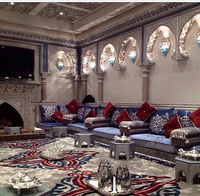 Sheesha Bar Mediterraneanhomes Living Room Sofa Design Interior Design Furniture Arabic Decor