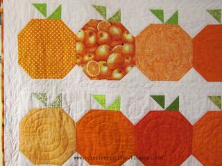 Pointless Quilter: Orange You Glad....