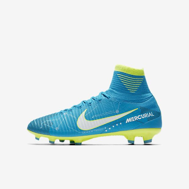 Nike Jr. Mercurial Superfly V Dynamic Fit Neymar FG Big Kids' Firm-Ground