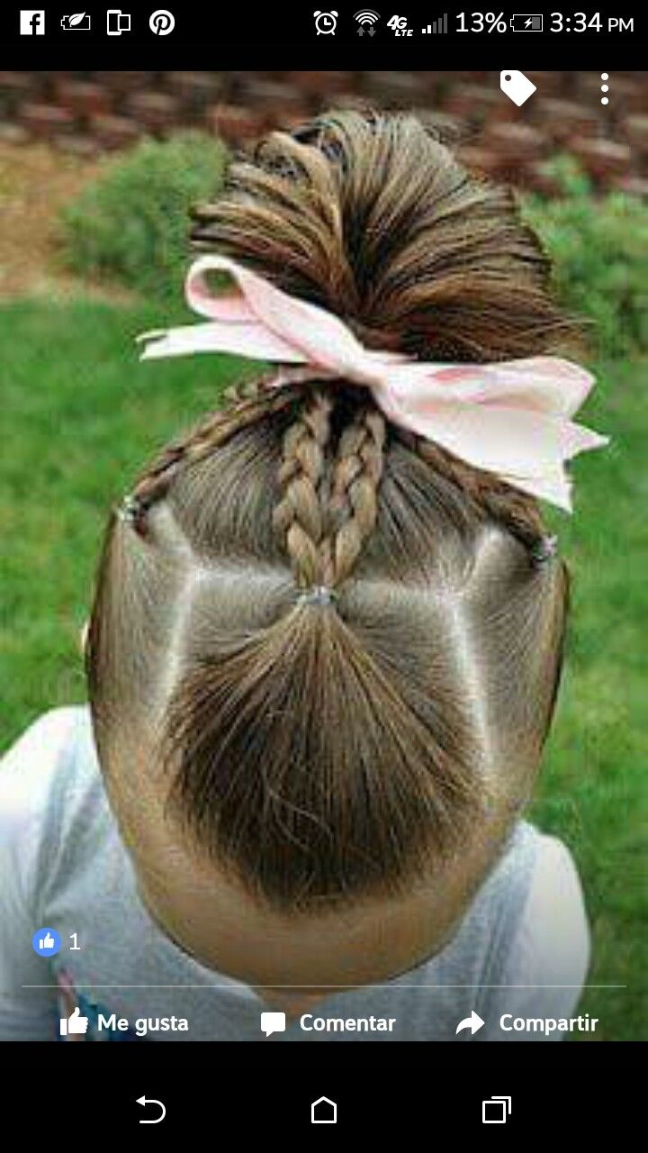 Pin by brittany dalton on hair dos for nevaeh pinterest hair