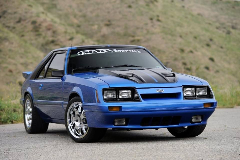 Highly Modified Four Eyed Fox Ford Mustangs Pinterest