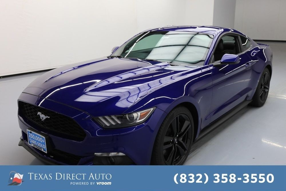Ebay 2016 Ford Mustang Ecoboost Premium 2dr Fastback Texas Direct