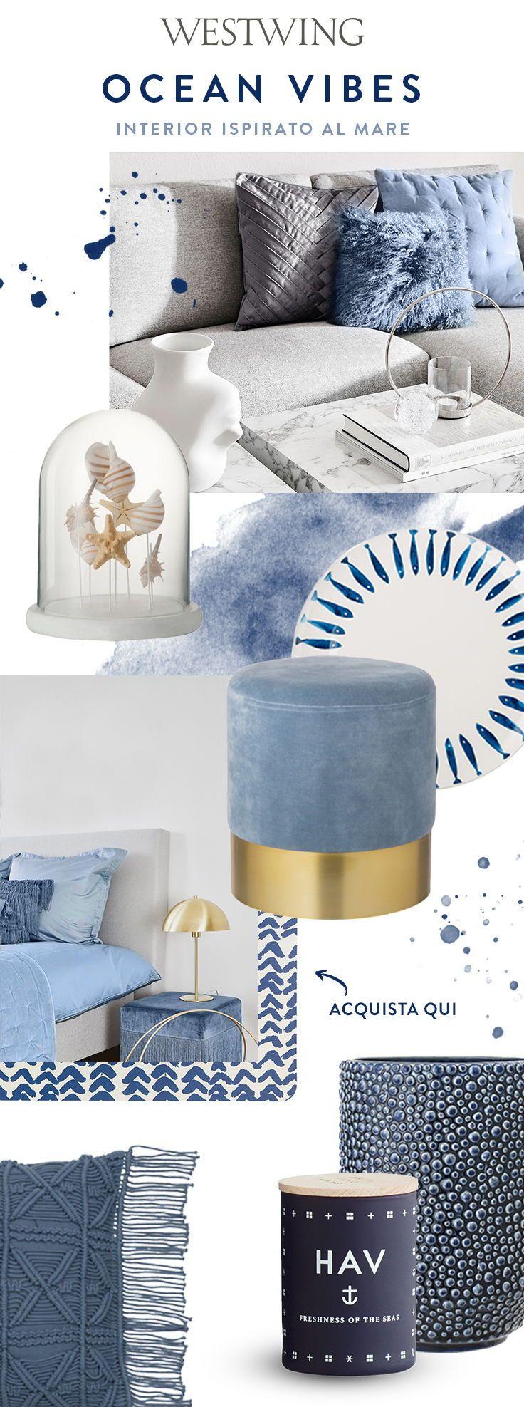 Blu & Azzurro per la casa - Per l'estate scegliamo questi ...