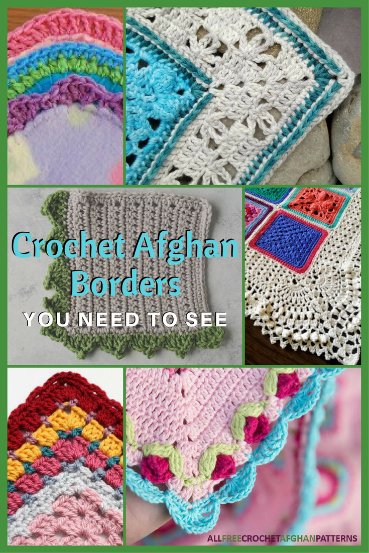 If you\'re looking for crochet edging for your afghan (or scarf or ...