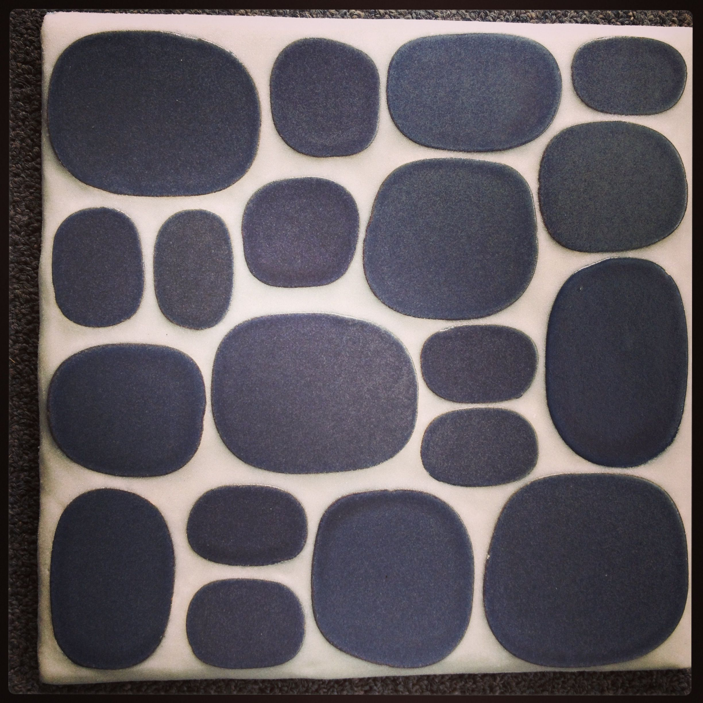 Rexray studio for modwalls new american made ceramic tile rox in rexray studio for modwalls new american made ceramic tile rox in eclipse black grouted with dailygadgetfo Choice Image
