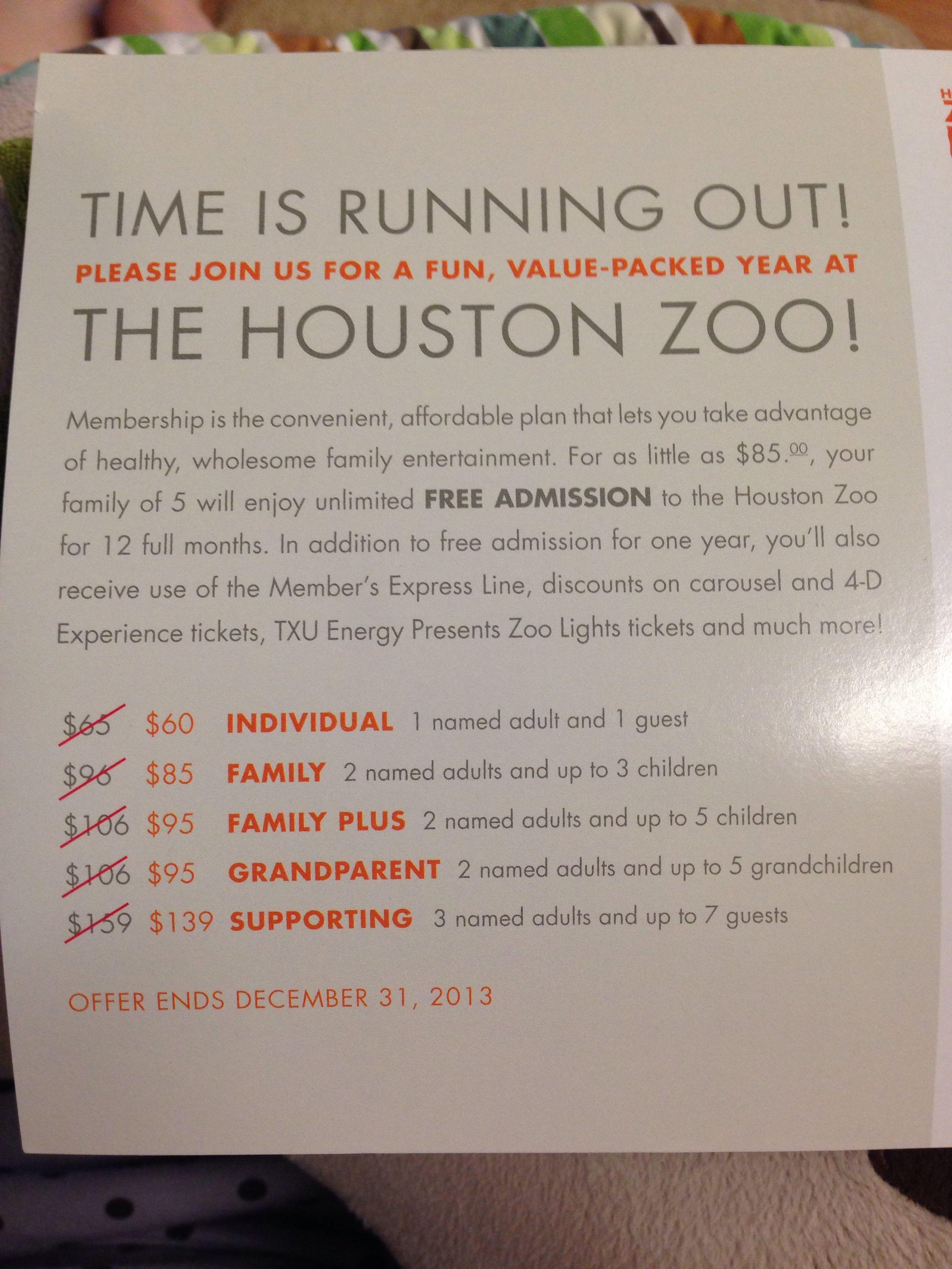 Zoo Membership Family Entertainment How To Plan Memberships