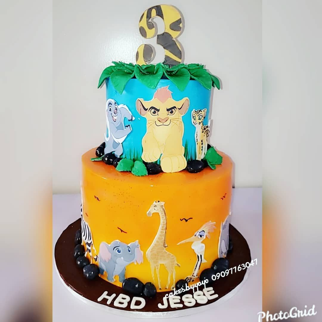 Lion guard themed birthday cake 😍😍😍 . . . .