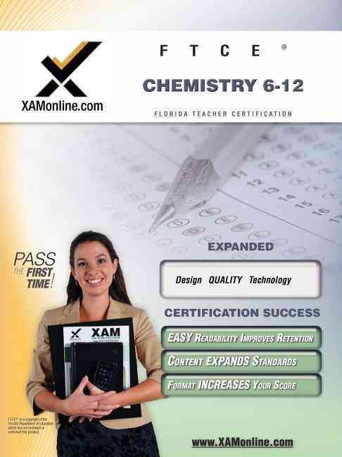 Ftce Chemistry 6 12 Teacher Certification Exam Chemistry