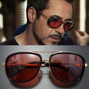 bac454c7fe Tony Stark Iron Man Sunglasses Men Eyewear Mirror Punk Sun Glasses Vin –  Hot Sale Products free ship to worldwide