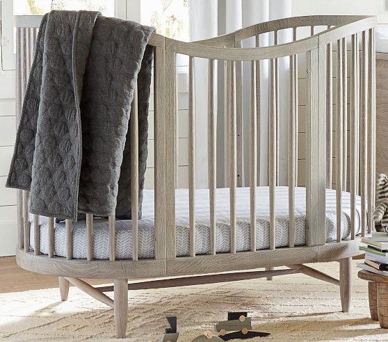 Luna Oval Crib Amp Amp Conversion Kit Oval Crib Modern Baby
