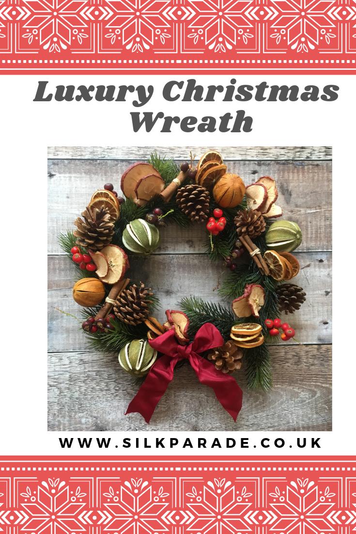 Christmas Traditional Wreath X Mas