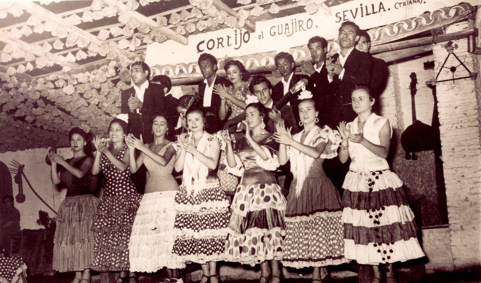 Fotos Antiguas Del Tablao Flamenco El Patio Sevillano La Sevilla