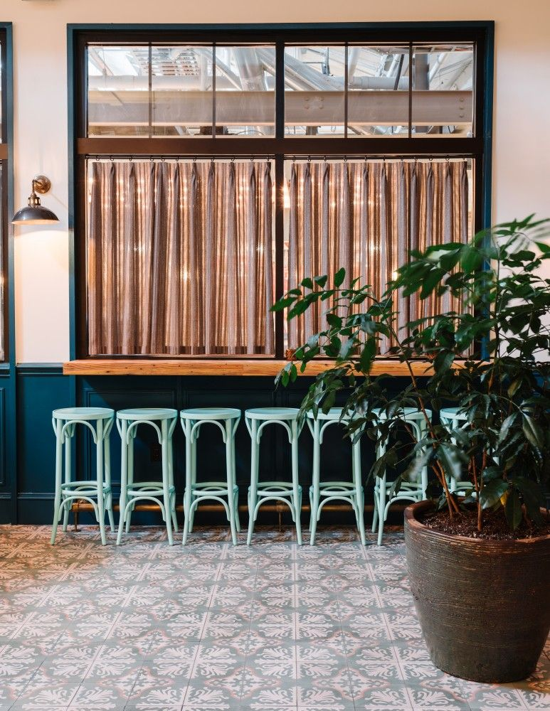 Watchman's Seafood & Spirits by Square Feet Studio Heart