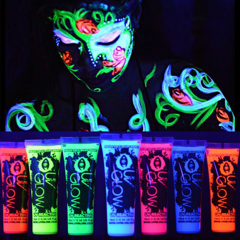 diy glow page dark supplies light for lights decor ideas in party on shower theme baby neon black of blacklight dedd lighting