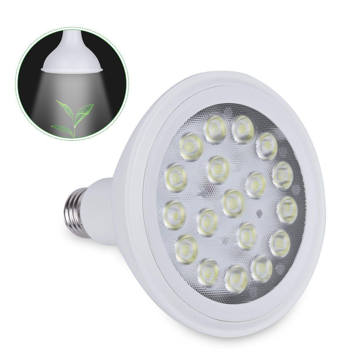 Timi Lighting Led Grow Lamp Bulb 18w Plant Grow Lights For Indoor Plants Hydroponics Greenhouse Organic Vegetables Floweri In 2020 Led Grow Light Bulbs Grow Light Bulbs