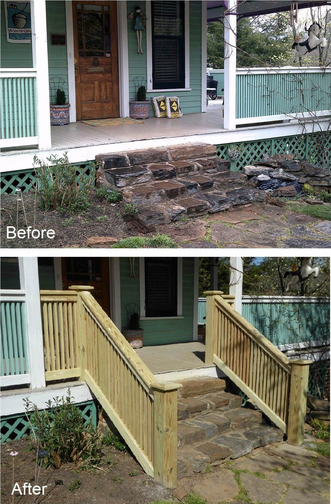 How to build a narrow entrance? | Banister remodel, Modern ...