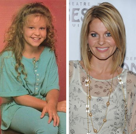Young Stars Grown Up Now Dj From Full House Now Candace Cameron Full House Celebrities Then And Now