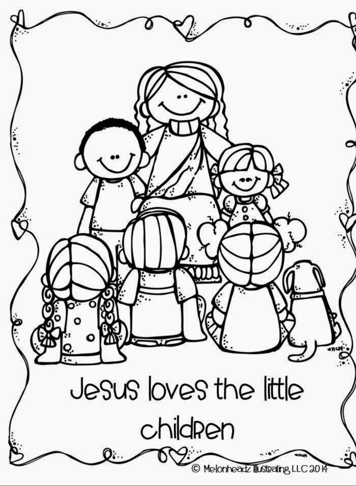 Pin de Darlene Twymon en CHILDREN Jesus loves the little | Pinterest