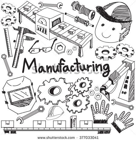 Manufacturing And Operation System In Factory Assembly Line